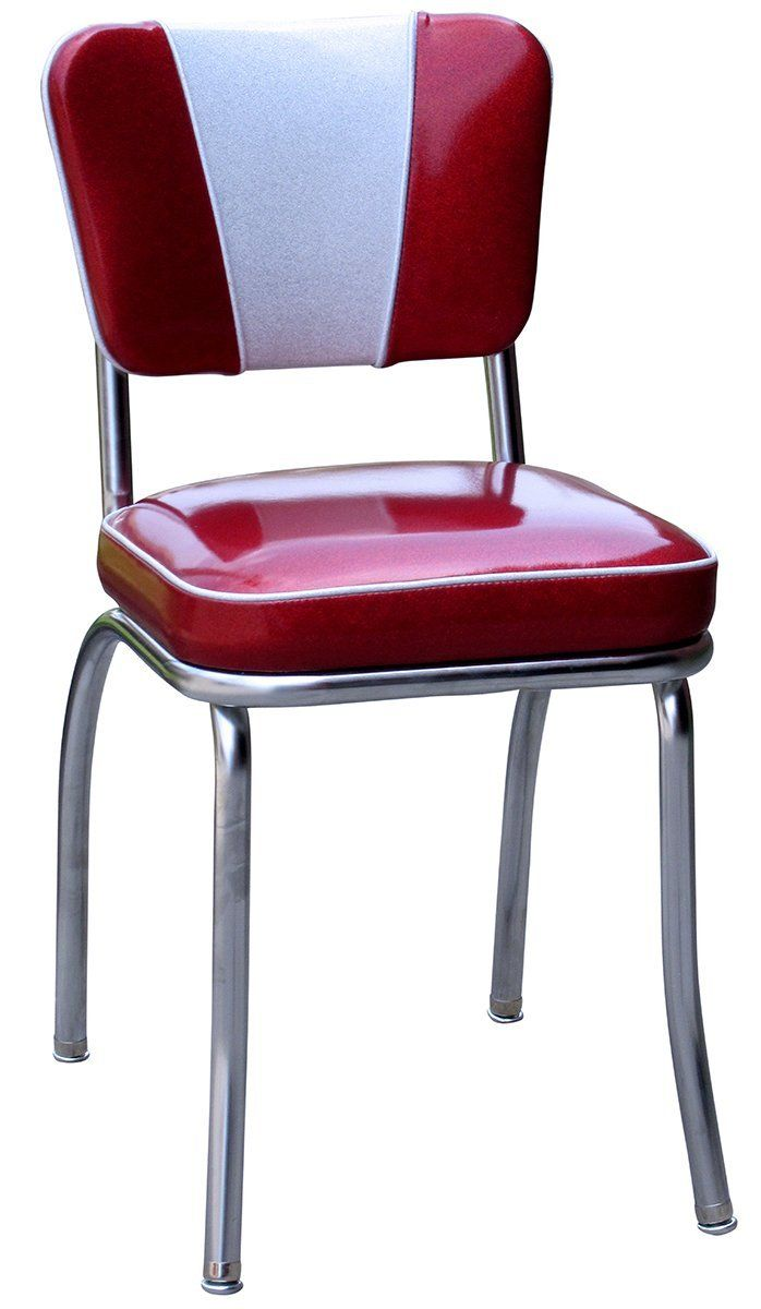 Retro Chrome Diner Chair | Home & Garden | Pinterest | Diners, Red ...