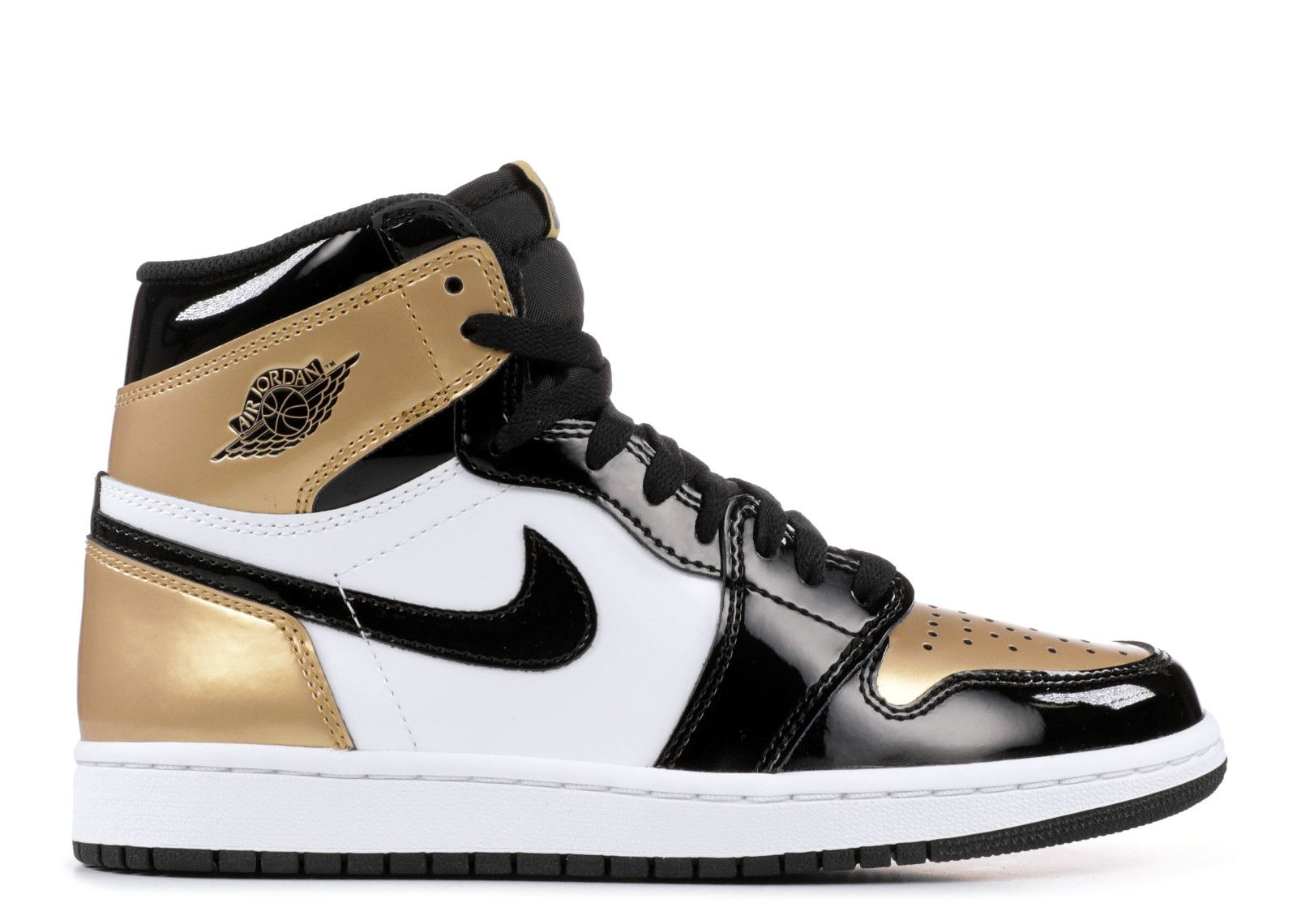 Air Jordan 1 Retro High Og Nrg Gold Toe With Images Air