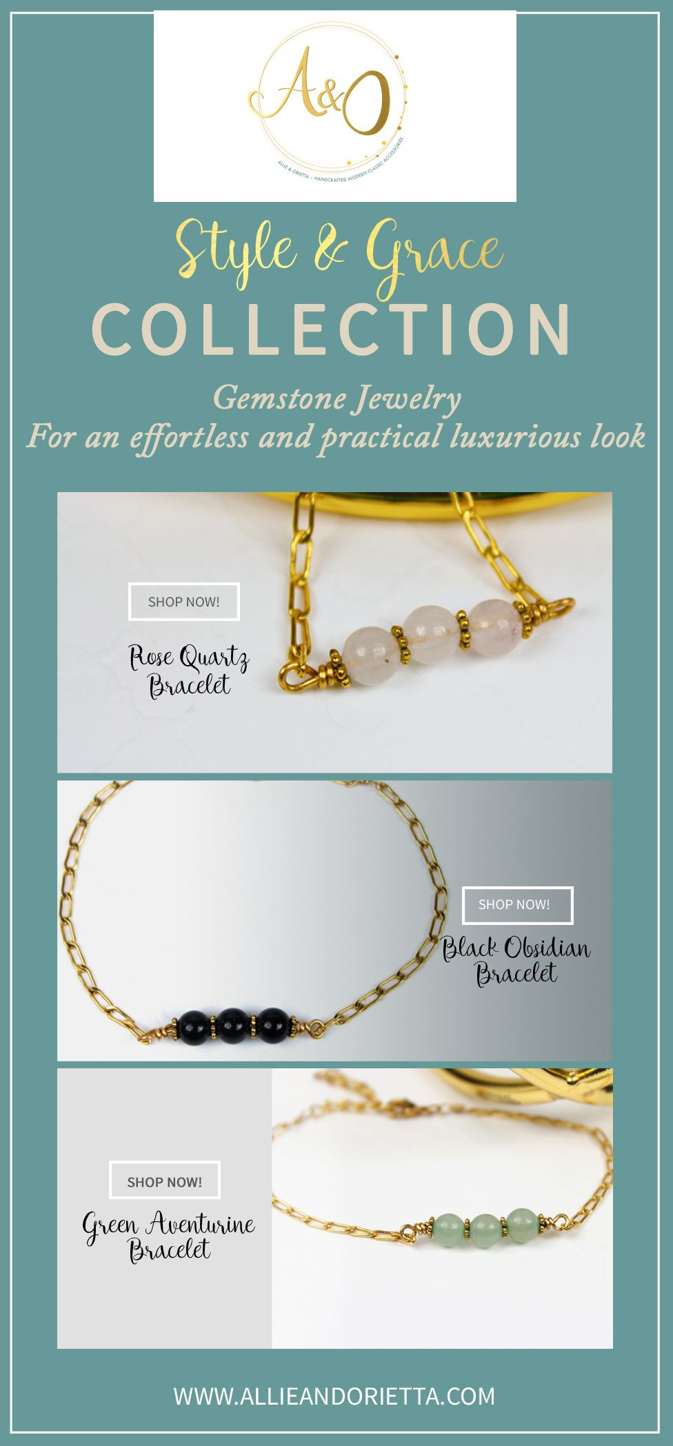 Ooooh yeah! Super chic gemstone fashion bracelets. Get yours now! :)