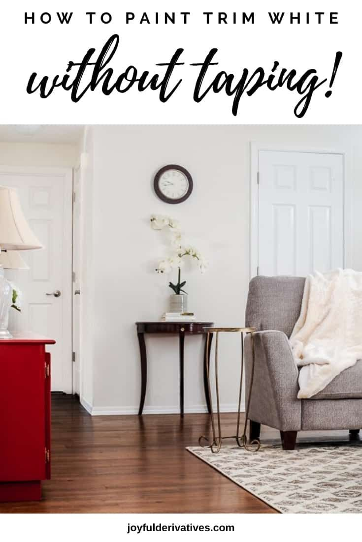 How to paint trim without tape the ultimate guide