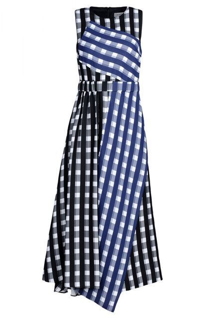 The Prettiest Spring Dress Trends To Try Now #refinery29  http://www.refinery29.com/pretty-spring-dress-trends#slide-2  Gingham? I hardly know 'em.