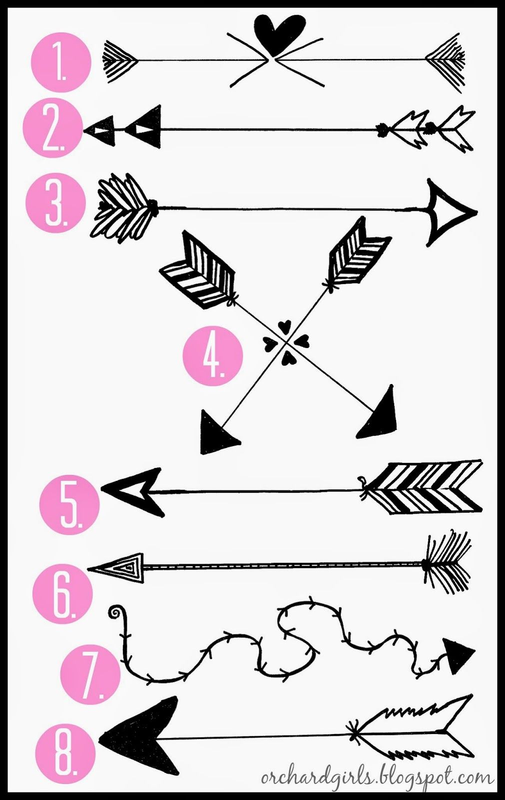 Pin By Ae On Room Parents Arrow Arrow Drawing Hand Drawn Arrows