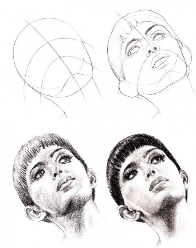 How to draw a face 25 step by step drawings and video tutorials drawing tutorials for beginnerspencil