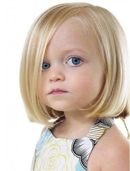 Pretty Little Girl Inverted Bob Haircuts Styles Time Meisjes Kapsels Kinderkapsels Kapsels