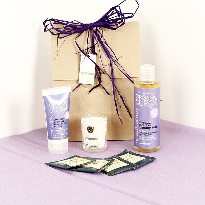 Lavender Lovers Gift Set by Green Tulip