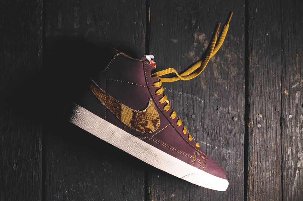 sneakers for cheap c3d4a 60832 Nike Blazer Mid Premium Vintage QS  Safari  Snakeskin