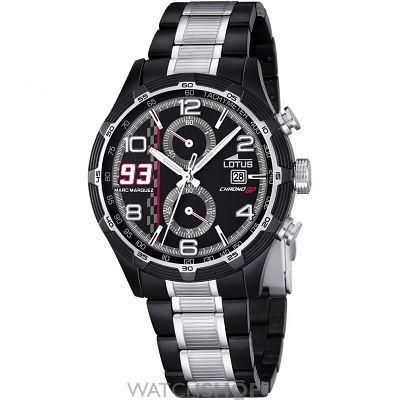 77ec0d8e68be Mens Lotus Chrono GP Marc Marquez Limited Edition Chronograph Watch L15882 1