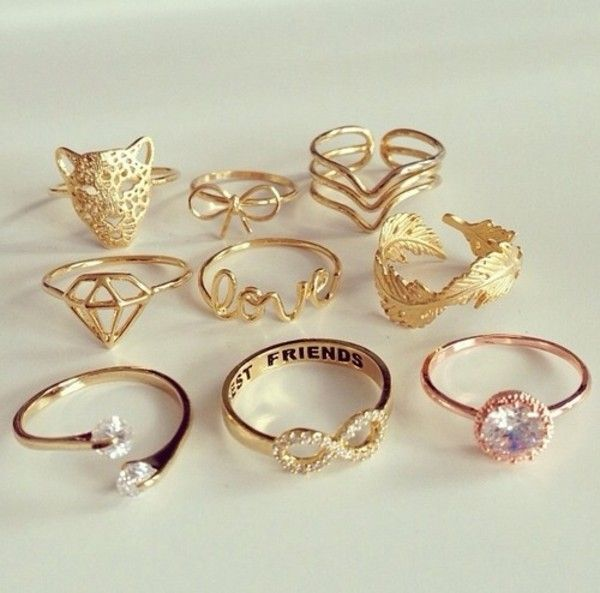 Long Rings for Teenage Girls