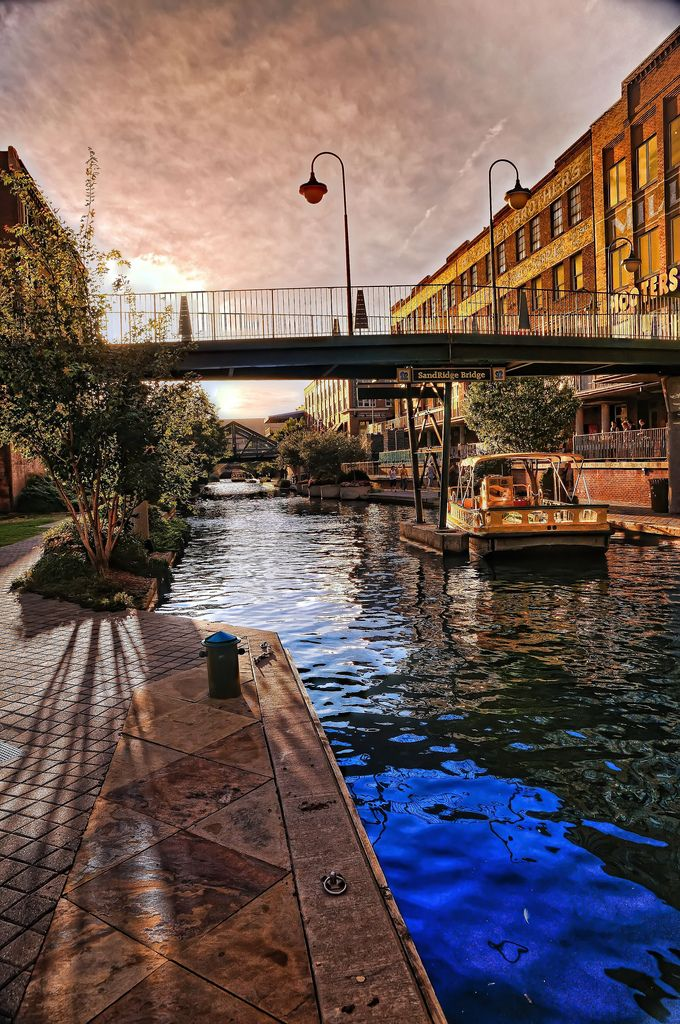 Okc Bricktown Canal And Water Taxi Oklahoma City Things To Do Oklahoma Travel Oklahoma City