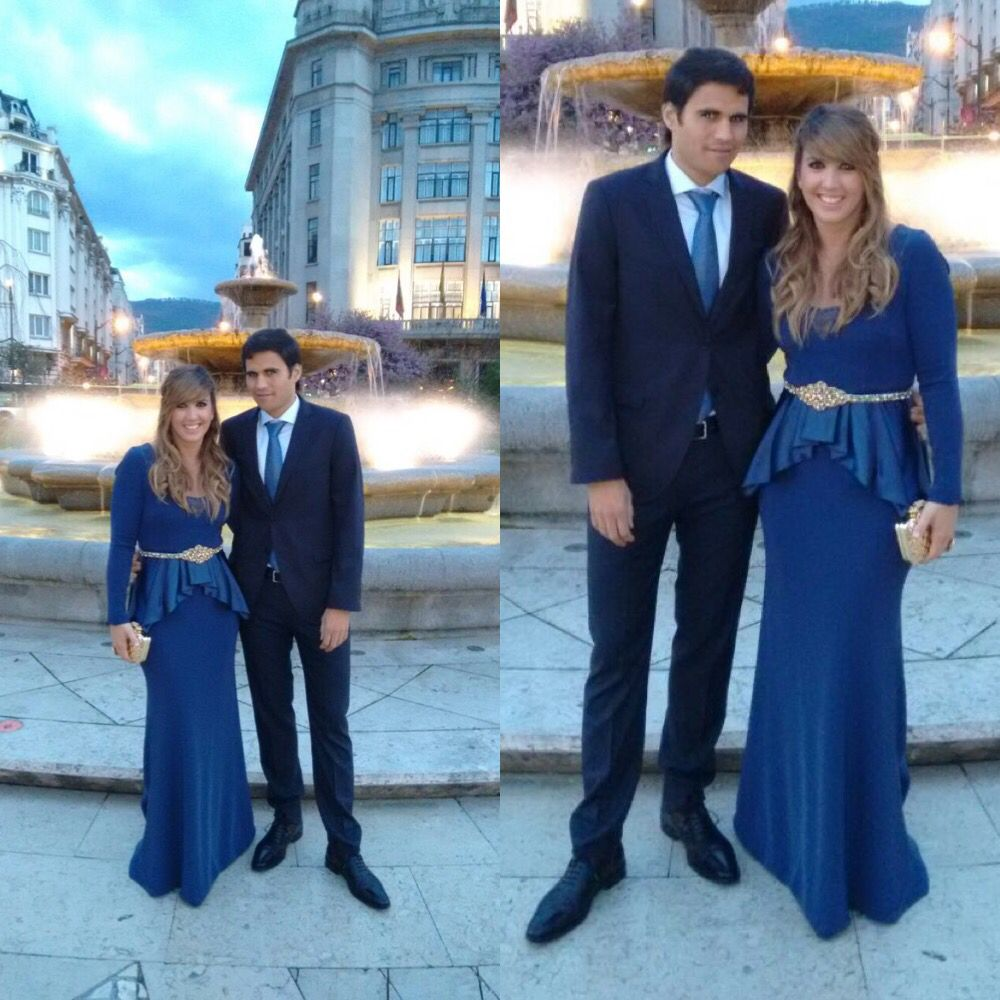 Marta de boda con vestido Alicia Rueda   Invitadas Alicia Rueda ...