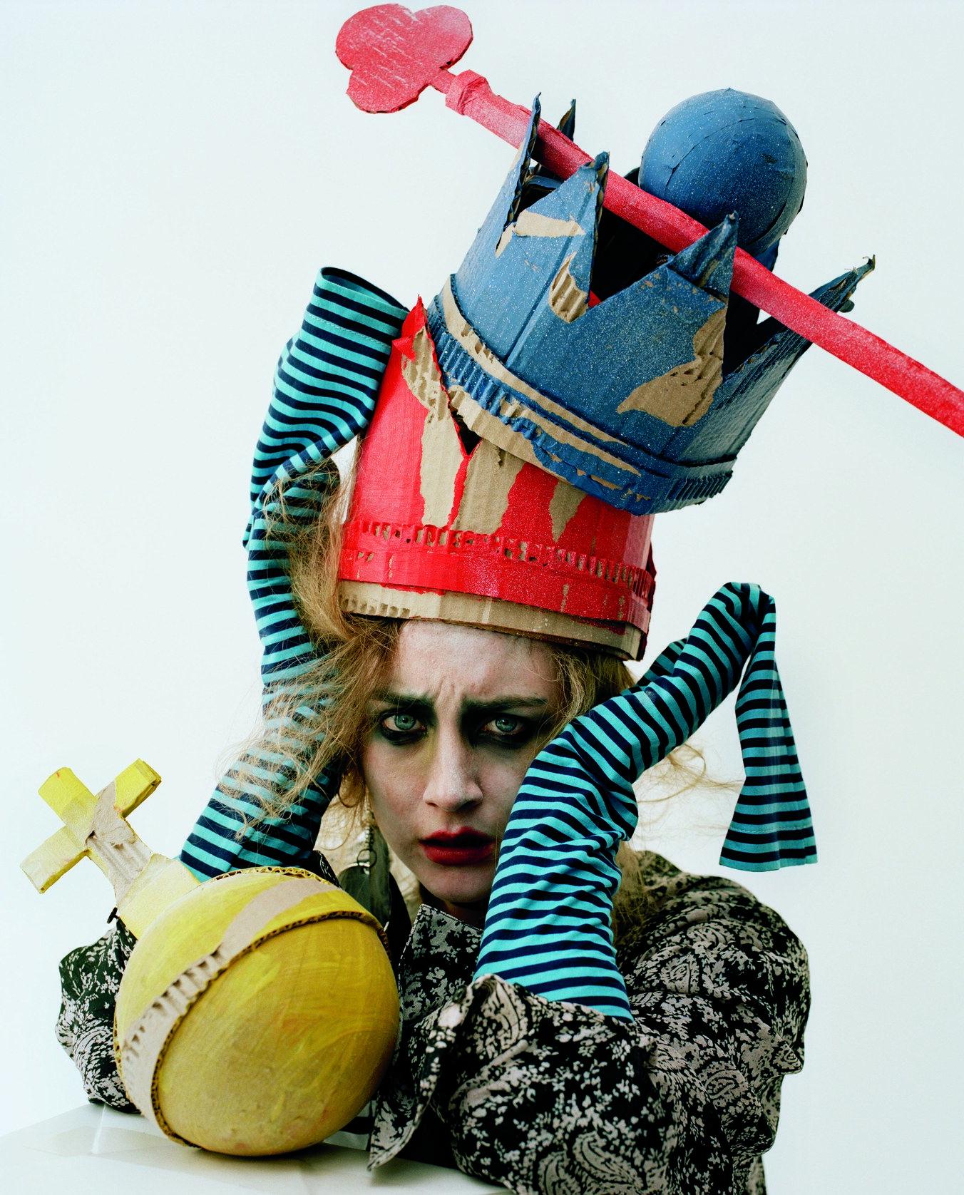 Actress Saoirse Ronan Dresses Up For Tim Walker Tim Walker Photography Tim Walker Editorial Fashion