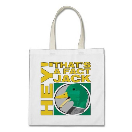 Hey! That's A Fact Jack Tote Bag