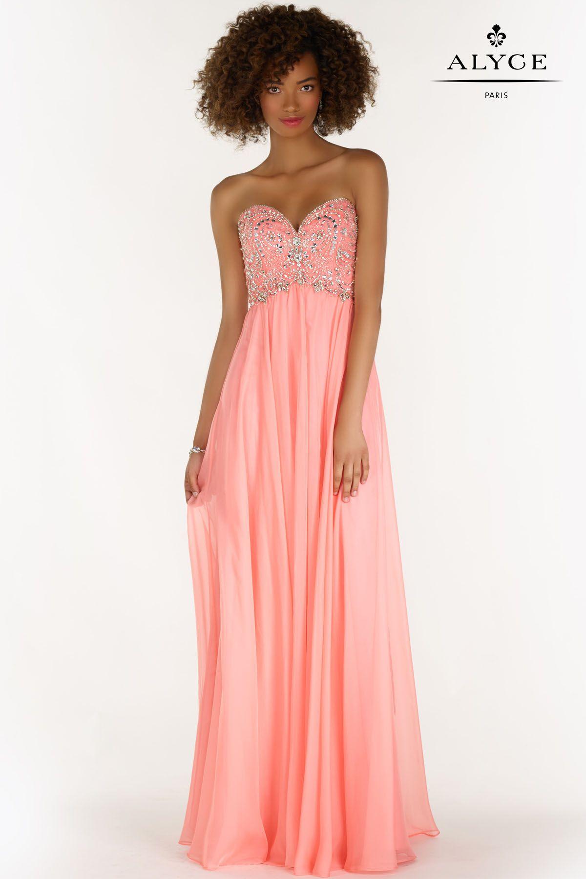Alyce Paris 6682 pink prom dress #ipaporm | Alyce Paris Prom Dresses ...