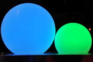Glow Balls #glow #bydzign #props #vegasdecor #décor #partyrentals For more info/ideas visit www.by-dzign.com