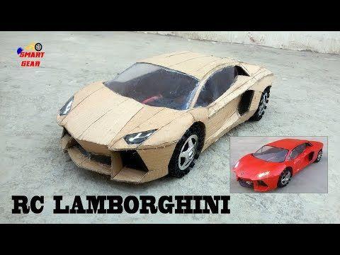 5 Wow Super Rc Lamborghini Diy Cardboard Lamborghini