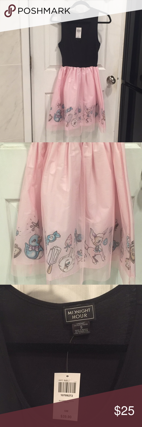 Pink babydoll dress nwt my posh picks pinterest pink dresses