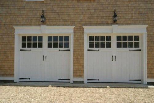 Pin By Andria Fisher On For The Home Garage Door Styles Garage Door Trim Custom Wood Garage Doors