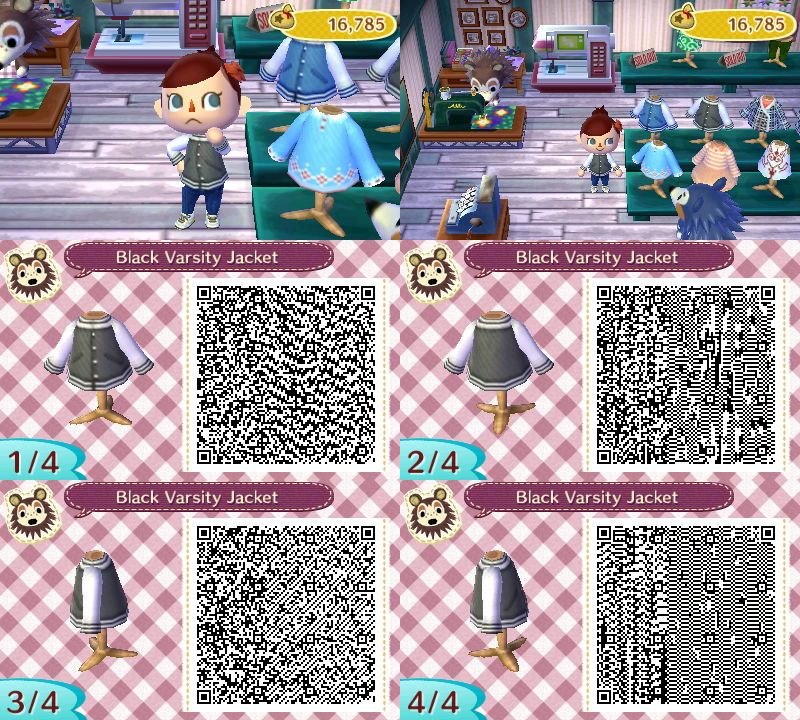 Animal Crossing New Leaf Qr Code Clothes Acnl For Men