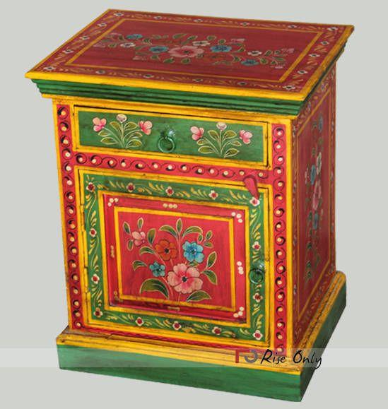 Best Painted Wooden Bedroom Bedside Furniture For Sale Online 400 x 300