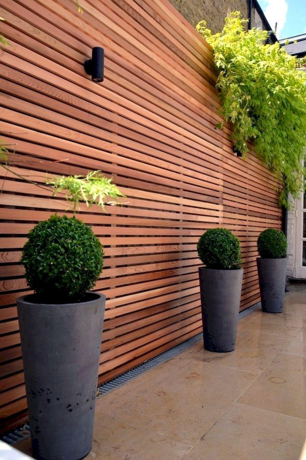 15 Easy Creative Privacy Fence Design Ideas