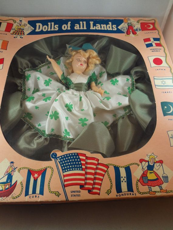 Dolls of All Lands Series Irish Doll St. by QualityRetroWare