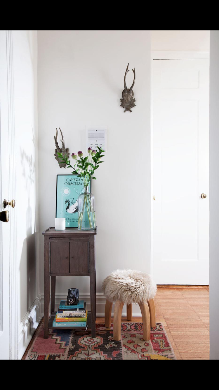 Small hallway furniture  Pin by Alex Horowitz on Attics Farms VintageSmall Living
