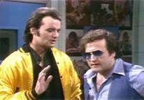 Bill Murray sings on SNL as Nick the Lounge Singer with Jim Belushi.