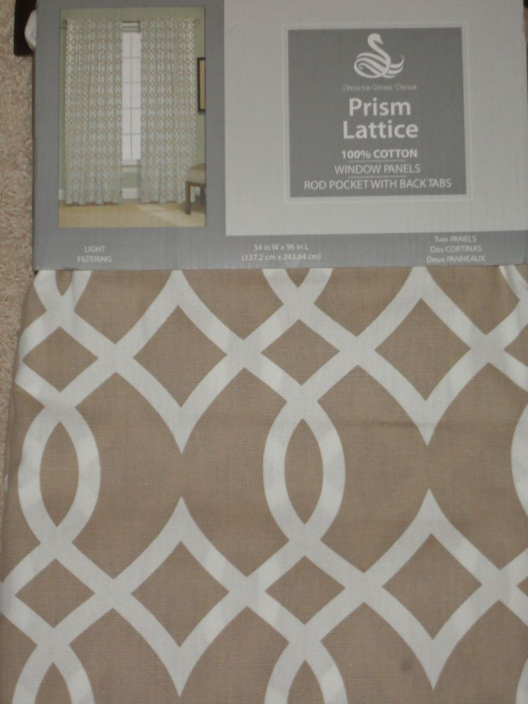 spencer home decor curtains prism lattice - best curtains 2017