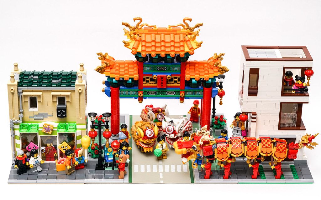 Happy Lunar New Year Lego Projects Lego Architecture Lego House