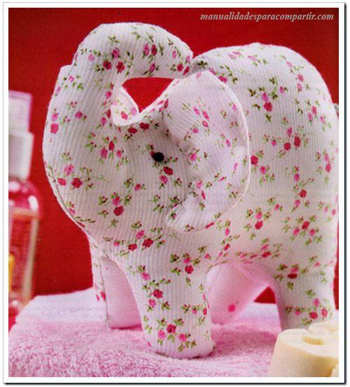 Como hacer elefantito de tela paso a paso manualidades for Manualidades con tela paso a paso