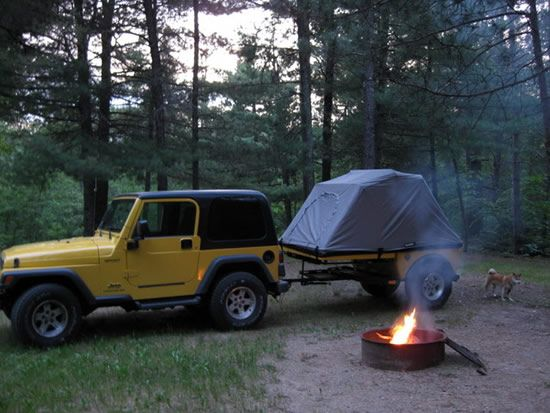 High Quality Jeep Wrangler Off Road Camper Trailers And Jeep 4x4 Campers By Tentrax
