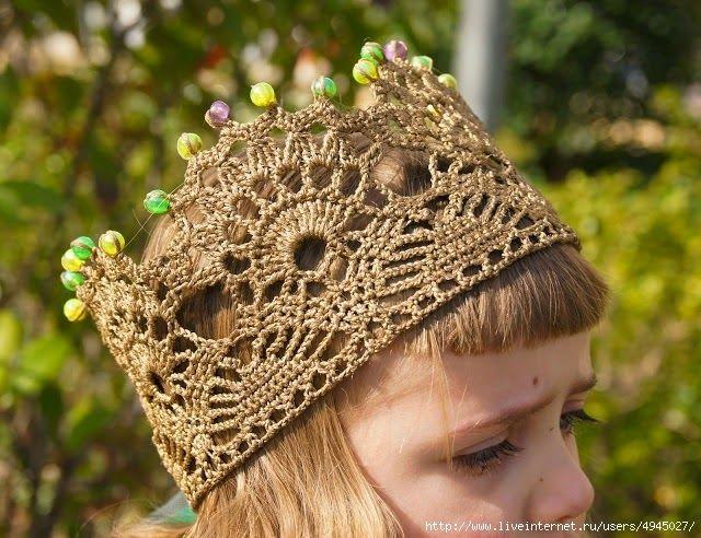 Ideas para realizar coronas tejidas con ganchillo y con palillos ...