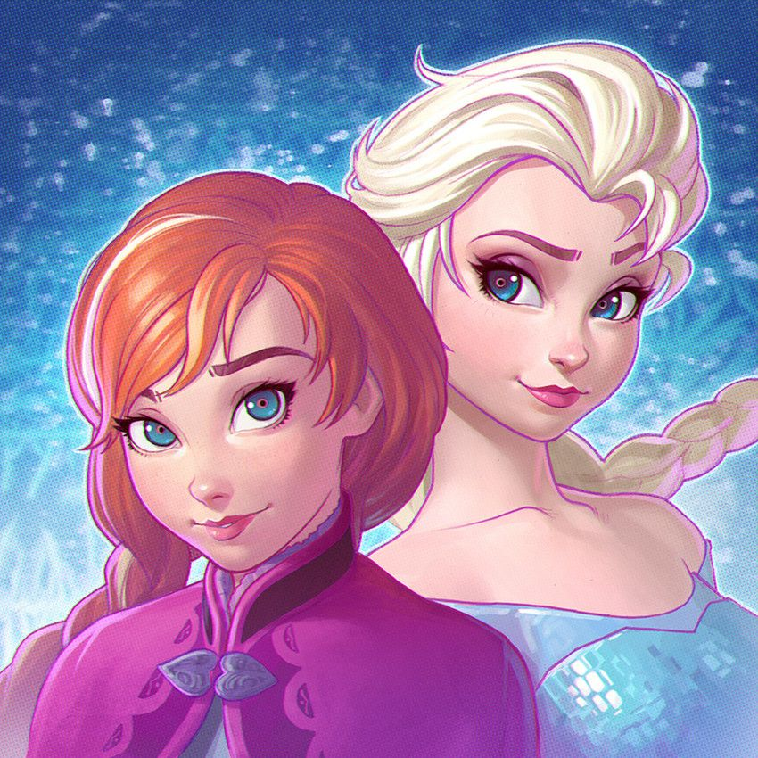 Disney - Frozen - Anna and Elsa