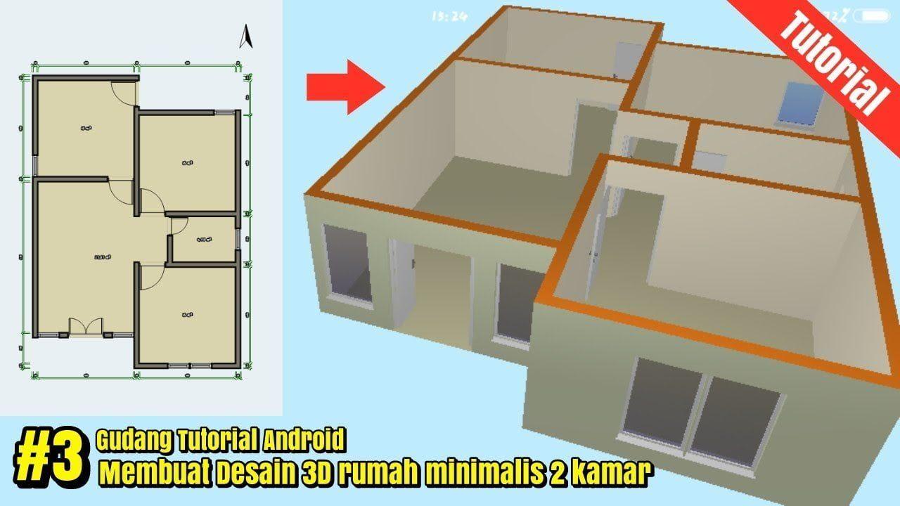 tipe rumah ukuran 6x9 3 kamar tidur