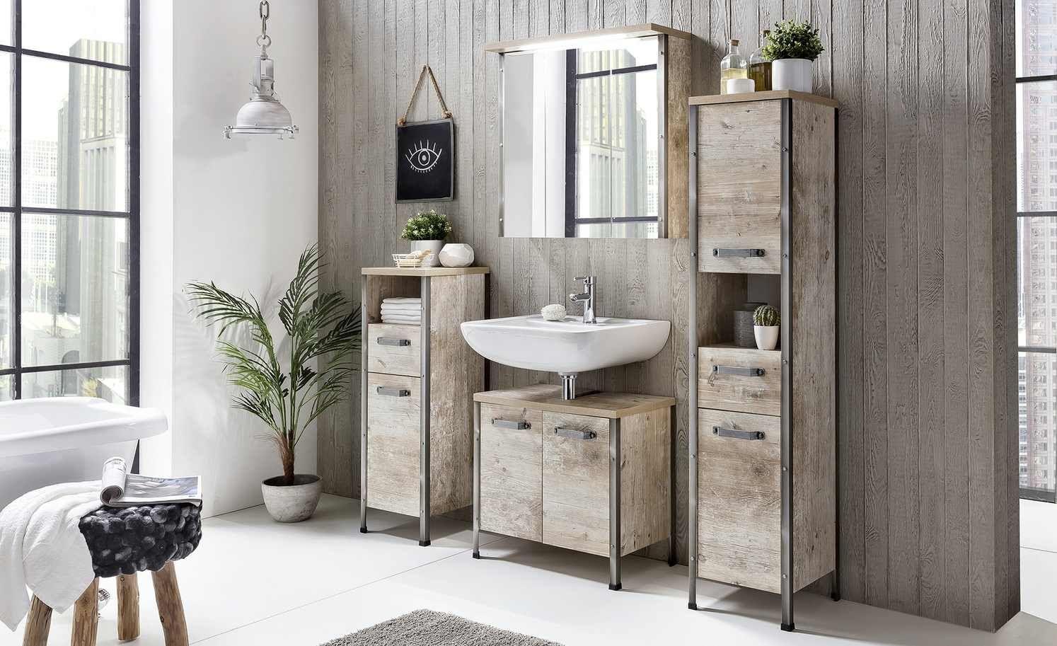 Badkombination Harksee Gefunden Bei Mobel Hoffner In 2020 Badezimmer Holz Badezimmer Badezimmer Innenausstattung