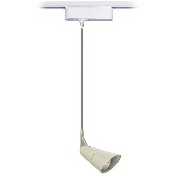 """Tech Lighting Scania White 12"""" Tech Track Pendant for Juno Track... (340 CAD) ❤ liked on Polyvore featuring track lighting and white"""