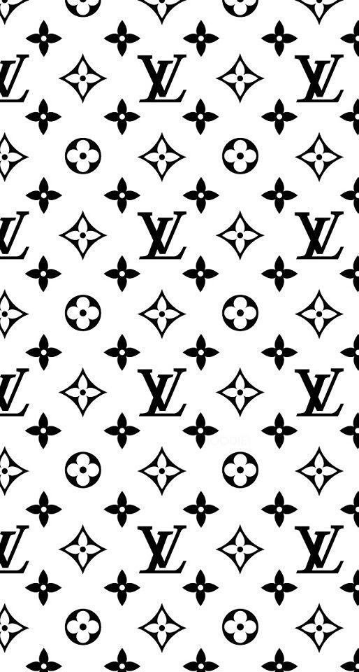 Black And White Louis Vuitton Monogram