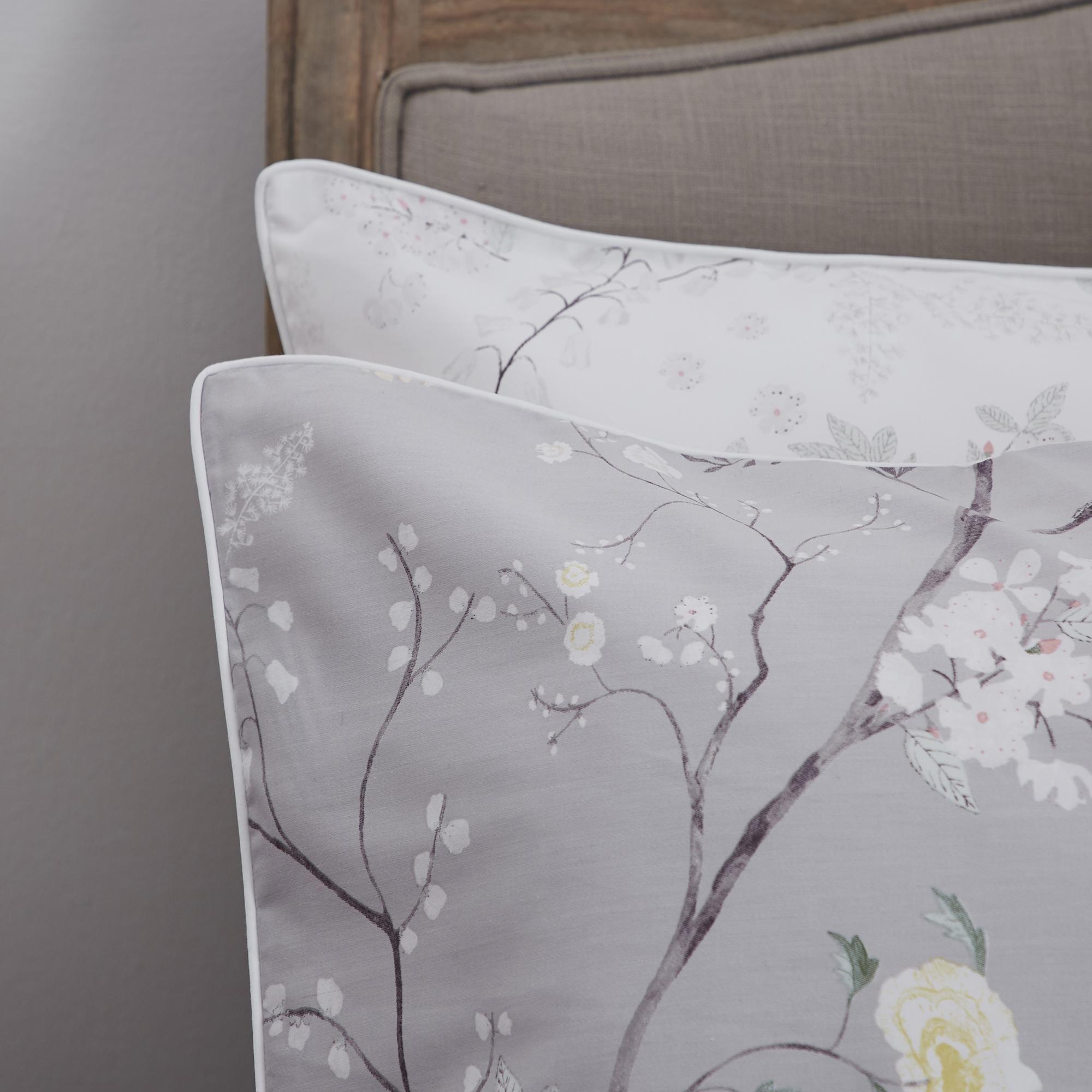 Dorma Maiya Grey Housewife Pillowcase