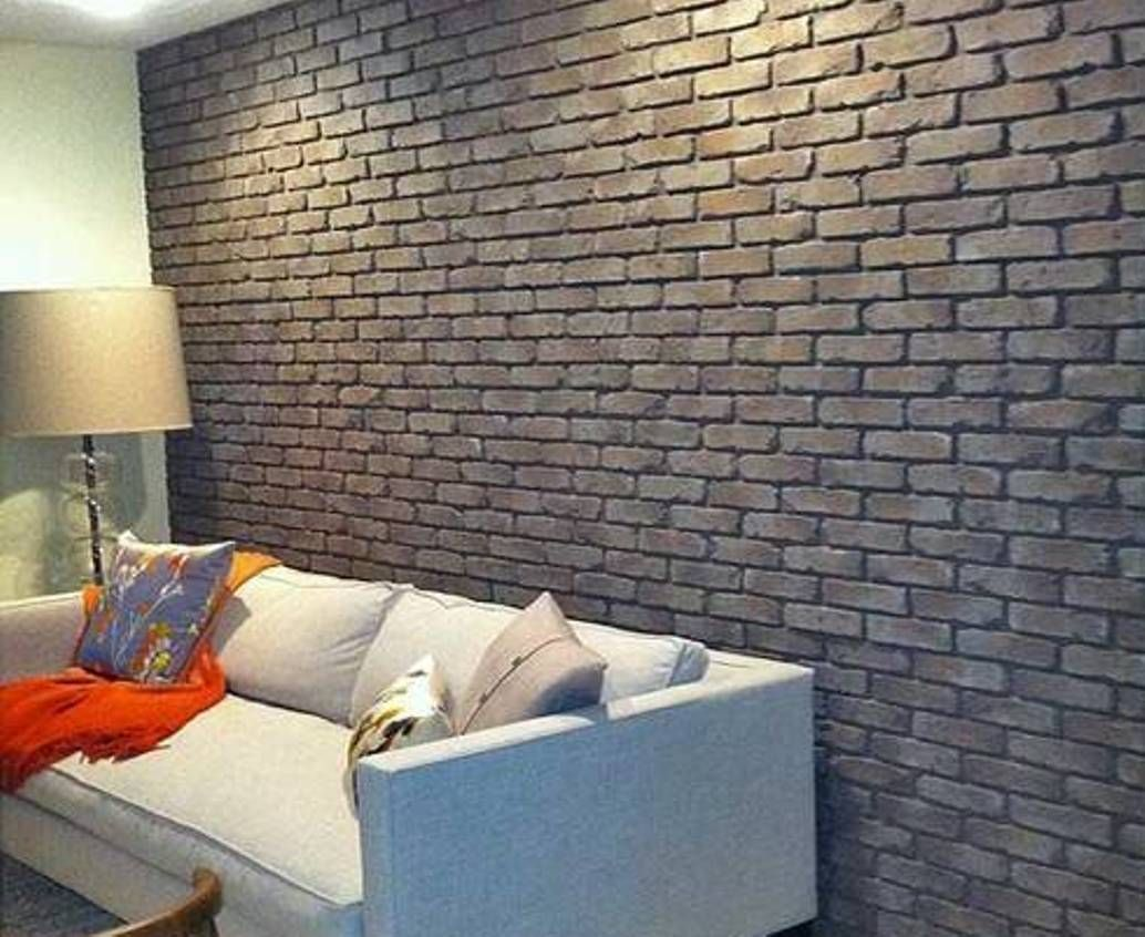 Faux Brick Interior Wall Home Design And Decor Faux House Interior Wall Paneling House