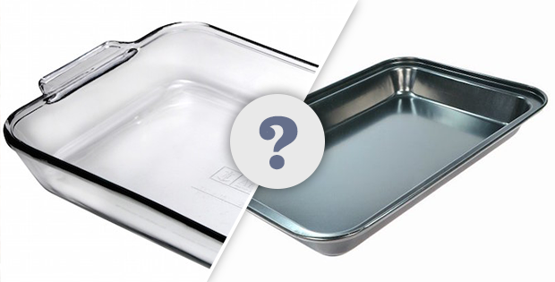 Does It Matter Whether You Use A Glass Or Metal Baking Pan