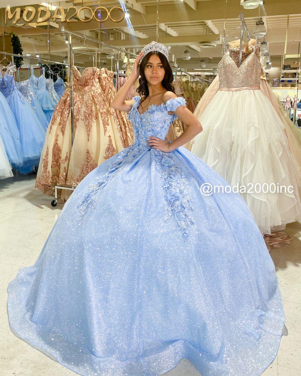 Cinderella Themed Off The Shoulder Bahama Blue Quinceanera Dress Quinceanera Dresses Blue Quince Dresses Baby Blue Quinceanera Dresses [ 1200 x 960 Pixel ]