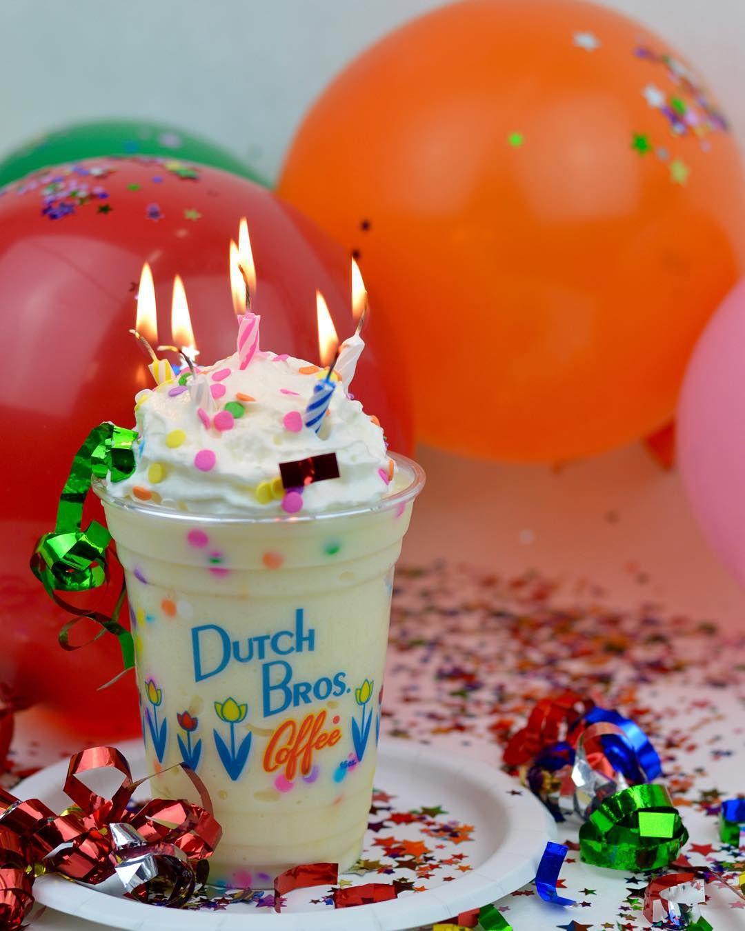 Birthday Cake Frost Dutch Drinks Pinterest Dutch Bros Dutch