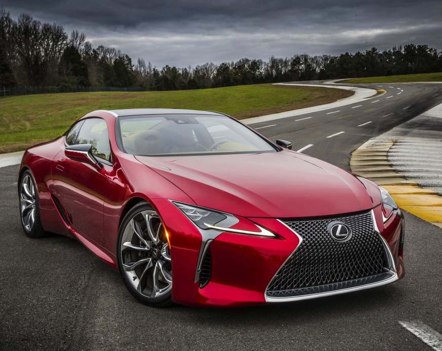 2017 Lexus Lc500 Colors Visualizer Black Chrome Looks 150 Shades Car Revs Daily Com Lexus Lc Lexus Cars Lexus Sport