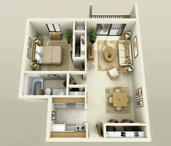 appartements dune chambre appartements modernes plans dappartement plans de maison nettoie disposition modles project presentation simple lines - Plans D Appartements Modernes