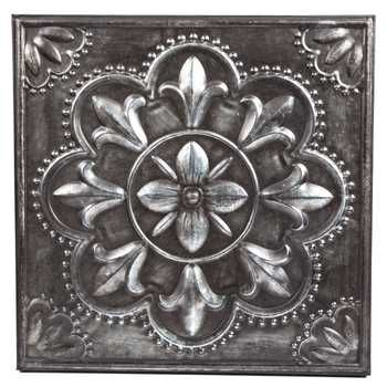 Pewter Flower Metal Wall Decor Behind the stove maybe?   Interiors ...