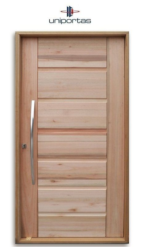 Big Brother Pivoting Swing Door in Solid Wood Eucalyptus …