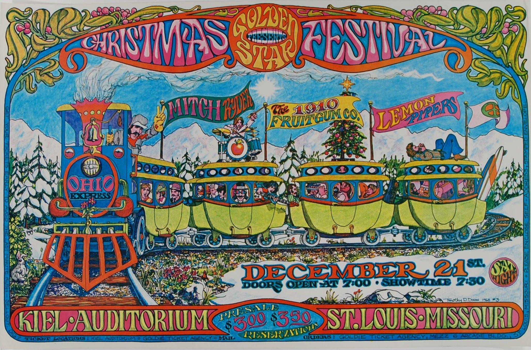 Golden Star Christmas Festival 1968.