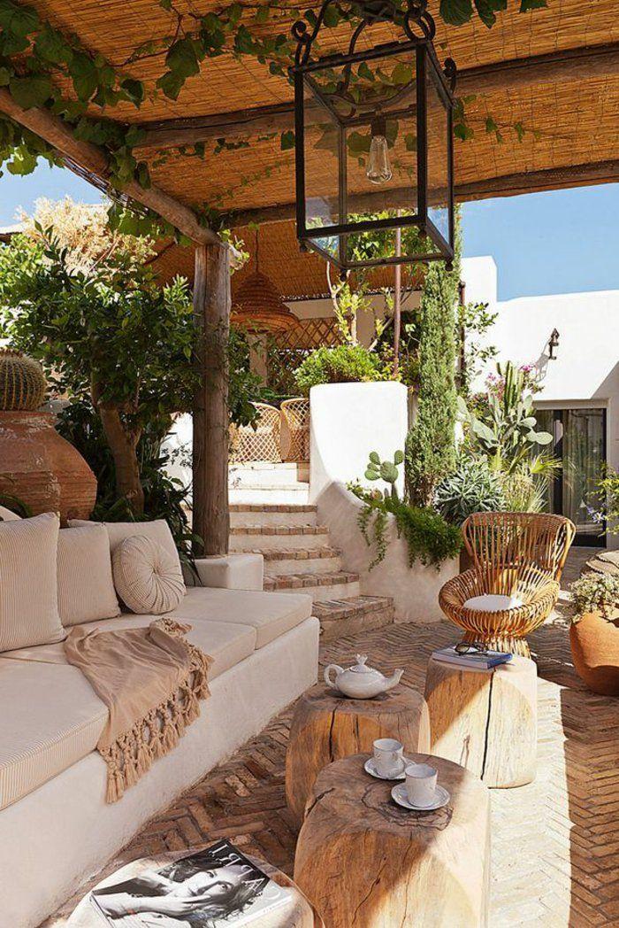 idee deco petit jardin comment amenager sa terrasse meubles d exterieur moderne en bois