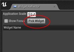 UE4 Quick Tip - Widget Reflector - waynelee3d com