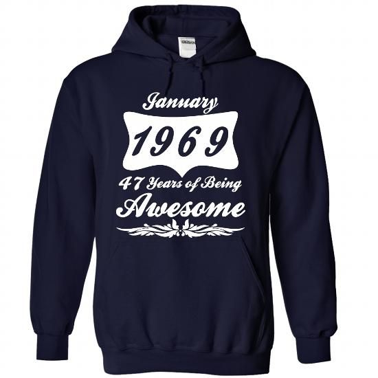 Jan-69 T Shirts, Hoodies. Check price ==► https://www.sunfrog.com/No-Category/January-1969-6922-NavyBlue-Hoodie.html?41382